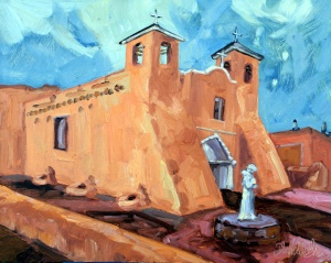 New Mexico is home to some of the oldest European buildings in the United States, some of these are over 400 years old and predate Jamestown. The Franciscans built these adobe style churches which have now become resonant with Southwest architecture and the Spanish mission style in the US.