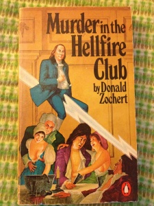 I don't think Ben Franklin was a member of the Hellfire Club despite his reputation as a ladies man. But still, having him on a lightning bolt while seeing a bunch of wigged gentlemen engage in debauchery is actually quite funny to see.