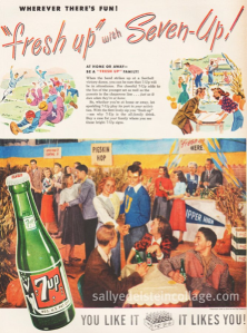 Of course, they may be talking about school sponsored activities here. However, 7 Up is used in a popular highball drink called 7 and 7. Still, let's just accept the fact that the most popular beverage on college campuses is beer and leave it at that.