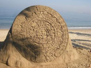 Of course, I'm not sure if it's either Mayan or Aztec. Then again, it almost resembles what would be found at a real site.