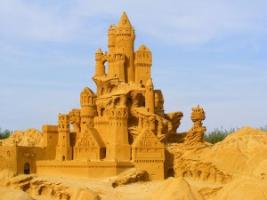 Yet, it's still much more amazing than a sand castle that I could ever build.