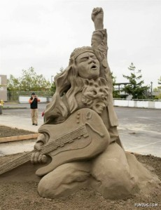 """Nevertheless, the song he played was """"Enter the Sandman."""" Get it?"""