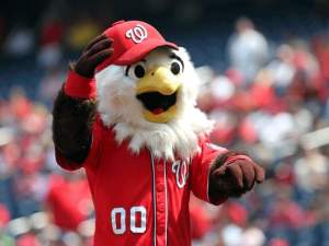 Now I know that bald eagles are majestic creatures and is the national bird of the United States. This mascot reduces an American icon to a Nick Jr. cartoon character.