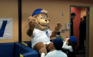 If you think going through a century without a World Series win was bad enough for Chicago Cubs fans, then you don't know the half of it. Sure Clark is a cute mascot but he's a bit creepy as if he's a spokesman for some Saturday morning PSA about adults touching you inappropriately. That or something a person drew to get into art school.