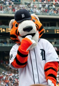 He's basically related to Tony the Tiger who's on ten years probation after a stint in the state penitentiary. We're not sure what he was in for but he did something really bad. Tony the Tiger's family doesn't really talk about him.