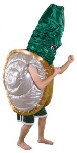 In case you don't know, a geoduck is a large saltwater clam with a very long siphon. Of course, not very intimidating, especially since the costume seems to come out of a sci-fi TV show gone horribly wrong. Maybe Evergreen State should've gone with a better seafood mascot like a crab, lobster, or giant squid.