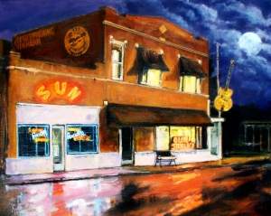 Tennessee is home to the Sun Records Studio in Memphs which was the place where a lot of very influential 1950s musicians that would lay the foundations of late 20th century rock n' roll. Notable artists include Elvis Presley, Johnny Cash,  Roy Orbison, Carl Perkins, and Jerry Lee Lewis.