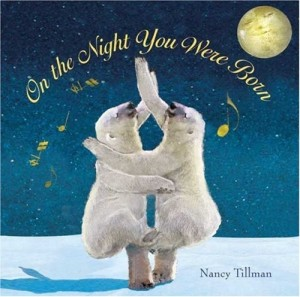 Of course, if this book were written for polar bears, this could be titled On the Night You Were Conceived. Yet, I'm not sure if the polar bear dancing would break the ice quite literally. Also, there's global warming to worry about.