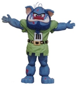 Now trolls are certainly fearsome creatures but they are also annoying, dirty, ugly, unpleasant, and have very bad B. O. A school whose mascot embodies such qualities, should probably consider getting a new mascot.