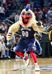 The good news is that the New Orleans Pelicans finally managed to make a chicken mascot that's bound to strike fear and inspire nightmares in those who lay eyes on him. The bad news is that Pierre is not supposed to be a chicken.