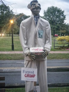 Of course, for those who don't know anything about Forrest Grump, it's a lot like Forrest Gump but with zombies. Still, stupid is as stupid does.