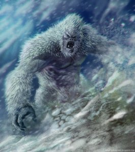 Of course, this Yeti is angry with all the tourism that's going on Mt. Everest these days.