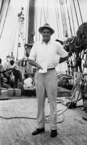 Of course, I could only wonder what kind of booze Bill McCoy brought to the Eastern Seaboard. Let me see, Bacardi or Captain Morgan? Oh, wait, that's rum and he transported his stash from the Bahamas.