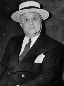 Yes, this is a picture of Guzik from 1946 but it was one the few good ones I could find. Still, you didn't want to beat him up or his buddy Al Capone would show his famous violent tendencies in your direction.