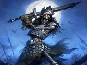 While some skeletons can bring reminders of death and mortality, there are those in undead armies that bring death to people and seem almost indestructible.