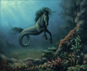 Sure this may be a lovely creature you'd want to ride on. Yet, bear in mind that you don't want to go on a water pony ride on this thing which tends to fake tameness to lure its prey: humans.