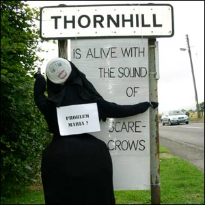 I'm sorry but Fraulein Maria hailed from Austria not Thornhill. Still, I like how they have