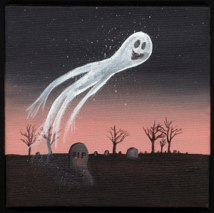 Now ghosts can come in all shapes and sizes but I'm sure seeing one will certainly freak anyone help. I mean imagine if you're grandmother's spirit came back from the dead. You wouldn't want that.