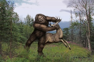 I'm sure you won't see this scene from Harry and the Hendersons. Still, you don't want to mess with this Sasquatch.
