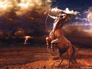 Some say that the Greeks' concept for a centaur came from seeing a bunch of guys mounted on horseback from Eastern Europe. Of course, these creatures have certain human and animal personality traits.