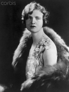 Nan Britton may or may not have been Warren Harding's babymama but she did cause a sensation with her 1927 book alleging that. Still, I wonder how she got the fur stole.