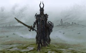 No, I'm sure this guy doesn't want you to bring him a shrubbery. He's a Draugr who's from a race of walking dead Viking warriors, not a Knight of Ni. I'm not sure if he'd want anything to do with a shrubbery anyway.