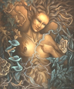 Sure she may be Greek Mythology's Mother Nature herself, but she's one nasty bitch who couldn't care less about how many trees you cut down or oceans you pollute. All that concerned her was what was causing her pain or filling her bowels at the moment as well as those who worshiped her.