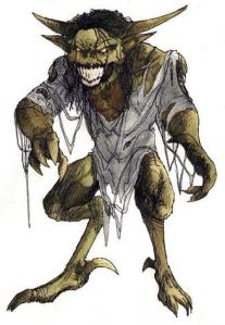 Grendel seems so happy that King Hrothgar hold all those lavish parties at his house despite all the drunken noise and revelry they're making. Of course, this means spending every night for 12 years on an all you can eat buffet of his favorite food: humans. That is, until Beowulf shows up.