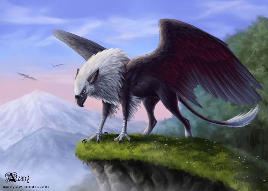Mythological creatures reexamined part 2 peluda to for The griffin