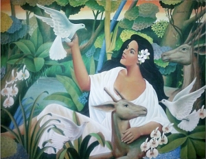 Like the Greek nymphs, the Diwata are nature spirits though could appear male or female. However, they are known to be diehard environmentalists and will curse you if you ever think of clearing their beloved forests for a strip mall. American Libertarians wanting to do business in the Philippines may want to take note of this.