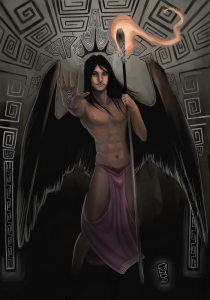 Hypnos is the god of sleep and is best known for escaping Zeus' lightning bolt of divine retribution after he put the chief deity to sleep while Hera harassed Hercules. Of course, he went home to Mama Nyx who Zeus really didn't want to cross.