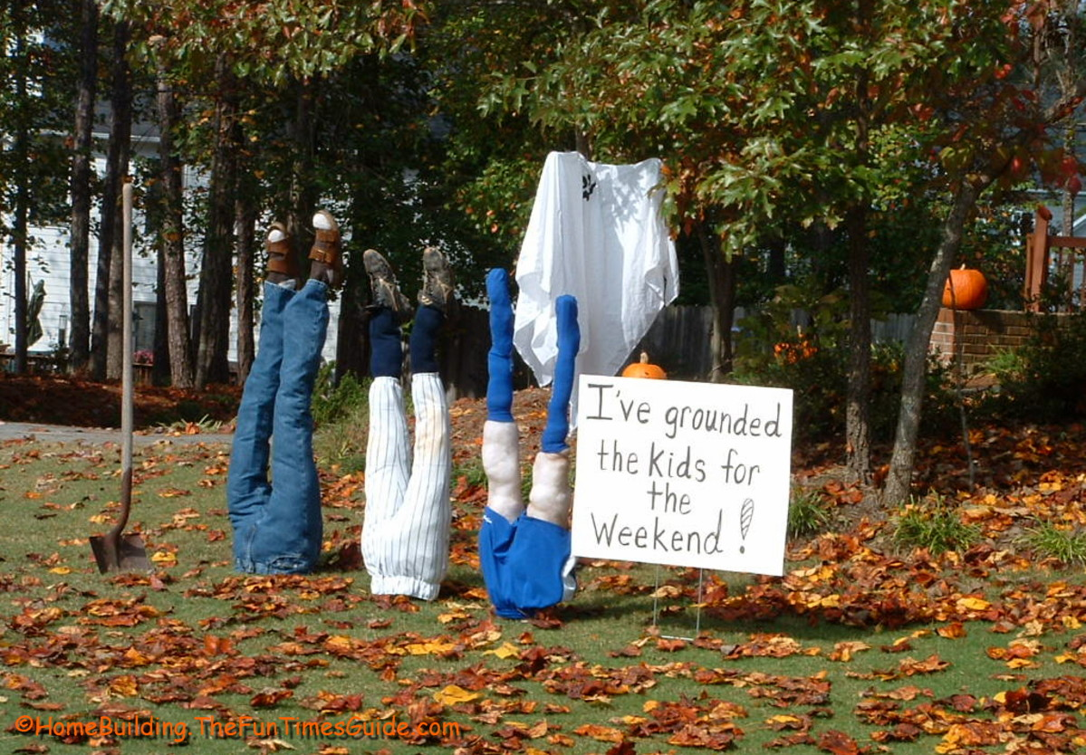 Halloween decorations ideas 2014 - While This Display May Make Neighbors Question Your Parenting Skills I M Sure It S