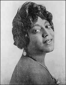 "Mamie Smith was one of the first female African American singers to work in a recording studio. She was also called ""Queen of the Blues"" and ushered the careers of the female singers. Apparently Niki Minaj and Beyonce probably don't know who she was."