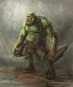 Now ogres may not always be completely stupid in legends but they are nothing like what you see in the Shrek movies. Of course, the Shrek in the original William Steig stories was pretty ugly than in the Dreamworks films.