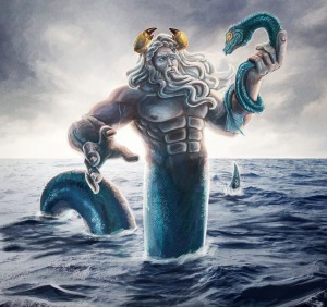 Before there was Poseidon, there was Oceanus who ruled the waves. Still, not taking sides in the war between the Titans and Olympians and the overthrowing of Uranus explains why he avoided Tartarus.