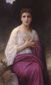 Psyche who was the goddess of soul was once a mortal princess who Eros fell in love with despite Aphrodite's jealousy. Best known for her beauty, determination, and her insatiable curiosity that almost left her for dead when she looked into a box of beauty.