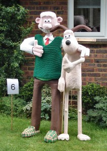 Of course, Wallace is one of the few guys who can don a sweater vest and not have anyone think him lame. Still, without his trusty dog Gromit bailing him out, he'd be sunk.