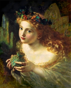 Like nymphs, fairies can come in all shapes and sizes but they're usually depicted small with insect wings as well as be in the form of pretty women. Still, they have appeared in everything in Western literature from Shakespeare, King Arthur, Rudyard Kipling, and Peter Pan.