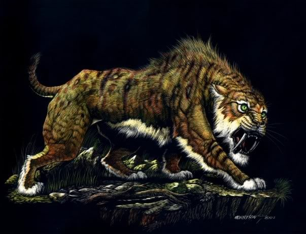 mythological creatures reexamined part 6 ennedi tiger