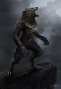 Of course, werewolves have been known to howl at the moon at night, especially when the moon is full. Yet, other than being half human and half wolf, yet as to how people become one and what they do varies by culture.