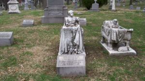 I don't know about you, but does anyone else think these graves stones are incredibly creepy? Seriously, they are.