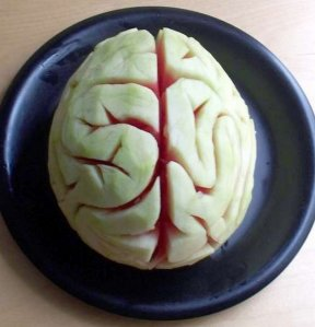 Let's hope this brain isn't from somebody named Abby Normal. Now that would be very, very bad.