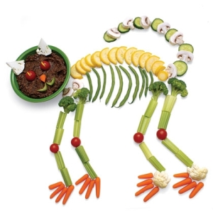 Now I didn't know that cats had skeletons made fro veggies and crackers. This is a very interesting specimen indeed.