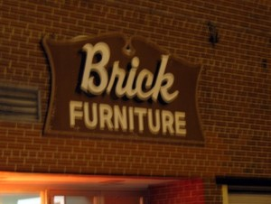 Let's just say, you wouldn't expect a anything from Brick Furniture to be very comfortable. In fact, quite the opposite.