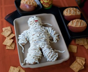Now I could see the next Wallace and Gromit feature a cheese dip mummy. Would be very terrified if it's made out of Wensleydale or cheddar.