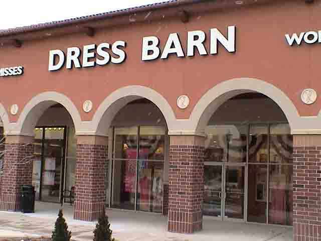 Dress barn clothing store