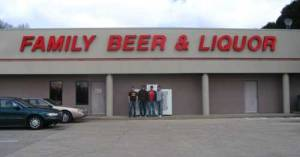 "This is a liquor store in Illinois. Now I'm sure they came up with ""Family"" just to give it a down home feel. Still, I don't think a place that sells alcoholic drinks should put ""family"" in its name. Makes one wonder whether they sell schnapps for kindergarten kids or something."