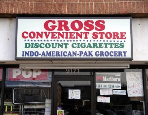 "At least this place lives up to the reputation of most convenient stores. Let's just say people are scared enough of convenient store food as it is. Not to mention, ""Gross,"" isn't a name you'd want to use on a business sign."
