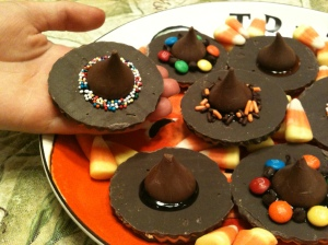 Of course, these are cookies with Hershey's kisses on top. Still, I'd eat em. Then again, I'd eat almost any sugary treat with chocolate.
