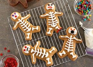 Now these are clever cookies with each having a different personality. Too bad you can't do the same for Christmas.